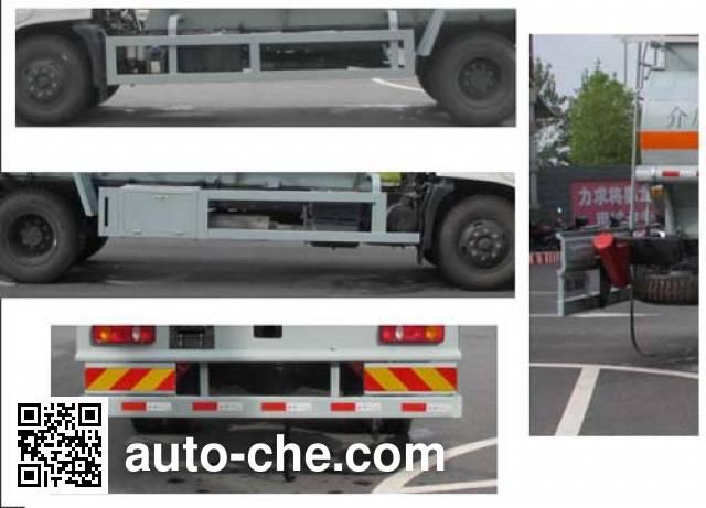 Jiulong ALA5160GFWDFL5 corrosive substance transport tank truck