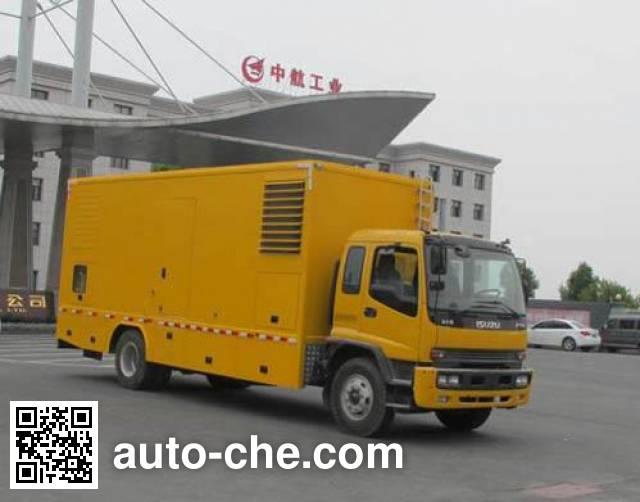 Jiulong ALA5161XDYQL5 power supply truck