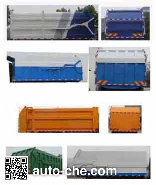 Jiulong ALA5180ZDJDFH5 docking garbage compactor truck