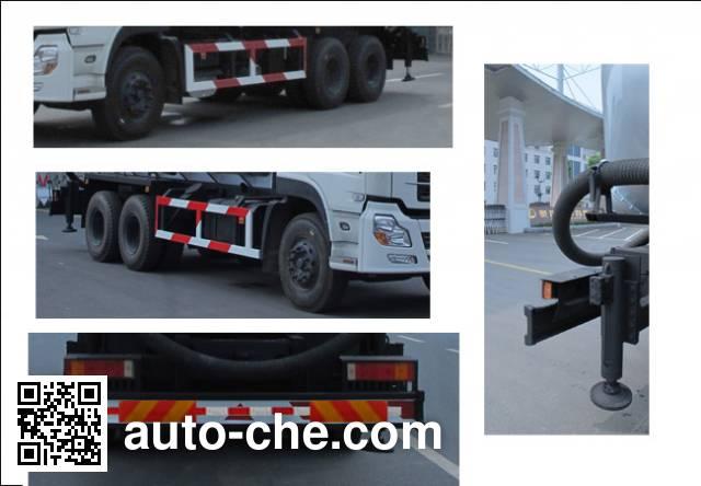 Jiulong ALA5250GGHDFL3 dry mortar transport truck