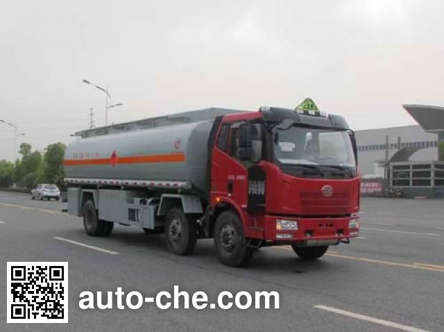 Jiulong ALA5250GRYC5 flammable liquid tank truck