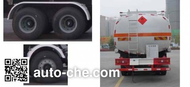 Jiulong ALA5250GRYSX5 flammable liquid tank truck
