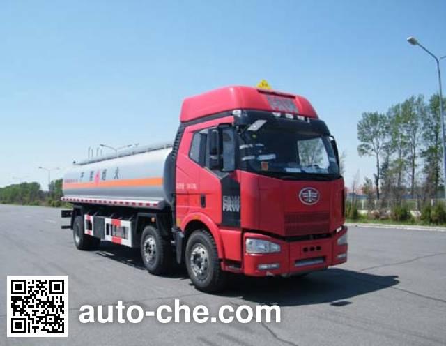 Jiulong ALA5251GRYC4 flammable liquid tank truck