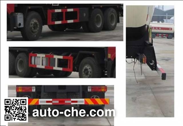 Jiulong ALA5310GXHC4 pneumatic discharging bulk cement truck
