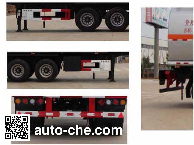 Jiulong ALA9402GLY liquid asphalt transport tank trailer