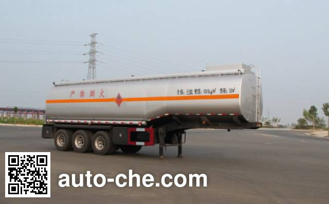 Jiulong ALA9405GRY flammable liquid tank trailer