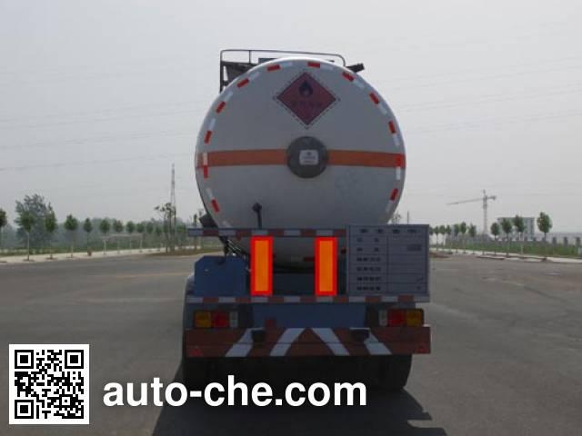 Jiulong ALA9409GRY flammable liquid tank trailer