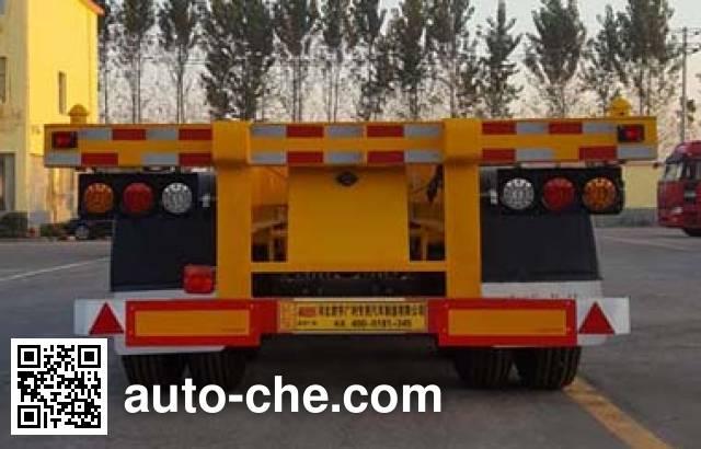 君宇广利牌ANY9401TJZ集装箱运输半挂车