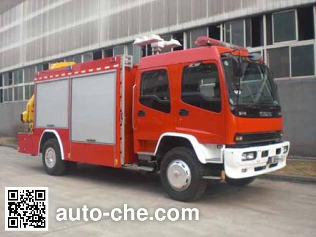 鲸象牌AS5135TXFJY86抢险救援消防车