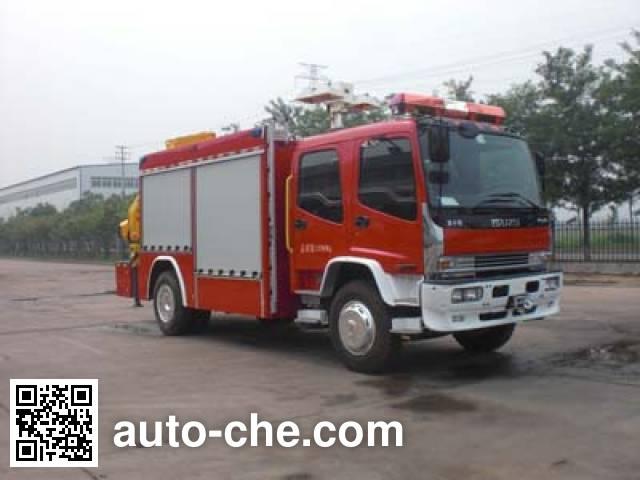 Jingxiang AS5135TXFJY86/W fire rescue vehicle