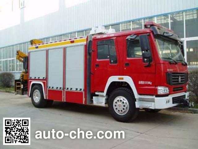 Jingxiang AS5143TXFJY120 fire rescue vehicle