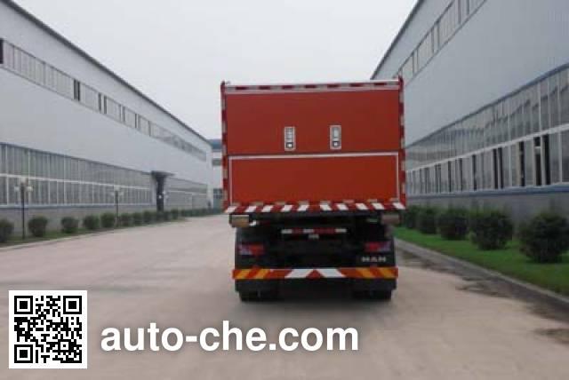 Jingxiang AS5169TXFZX90 hydraulic hooklift hoist fire truck