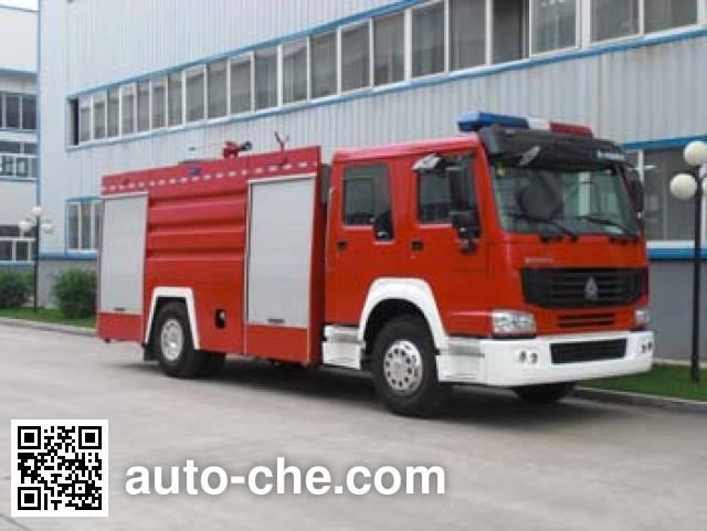 Jingxiang AS5193GXFSG80 fire tank truck