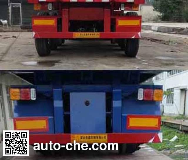 Shengde ATQ9402ZZXP flatbed dump trailer