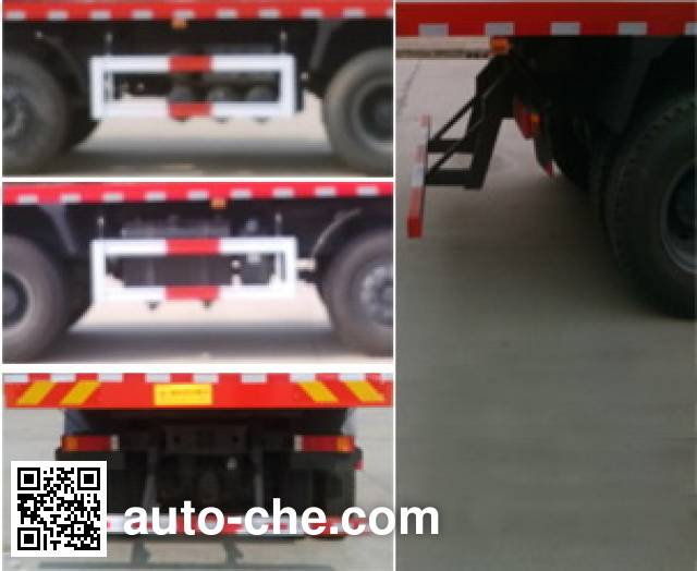 Shuangji AY3310A20P flatbed dump truck