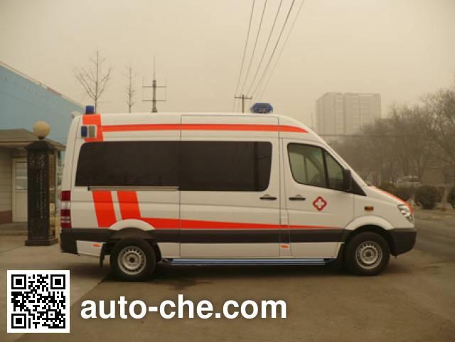 北铃牌BBL5041XJH救护车