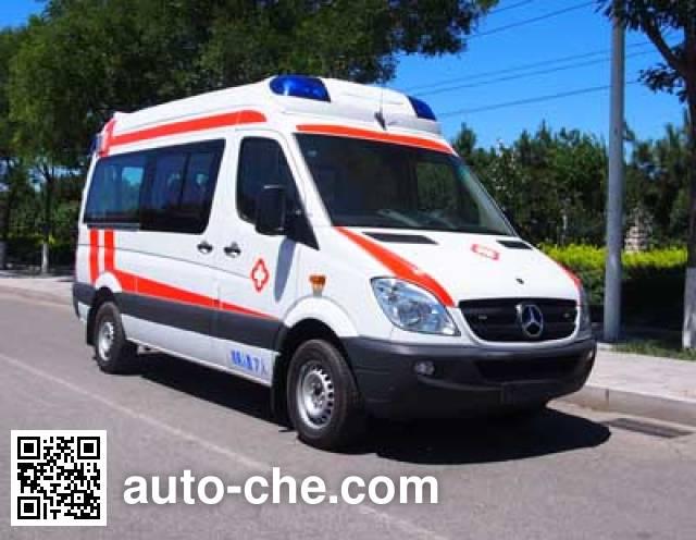 北铃牌BBL5043XJH救护车