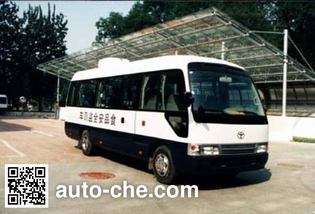 Basida BBL5050XJE food inspection vehicle