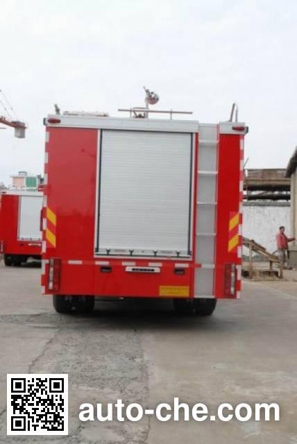 Longhua BBS5140GXFPM60D foam fire engine