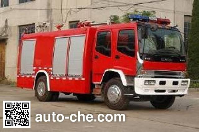 Longhua BBS5160GXFAP55 class A foam fire engine
