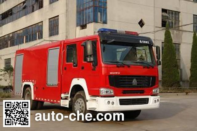 Longhua BBS5190GXFPM80H foam fire engine