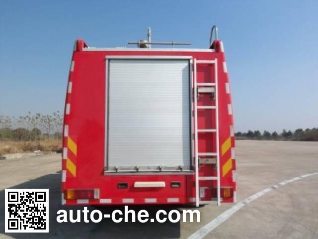 Longhua BBS5190GXFPM80O foam fire engine