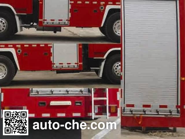 Longhua BBS5190GXFSG80O fire tank truck
