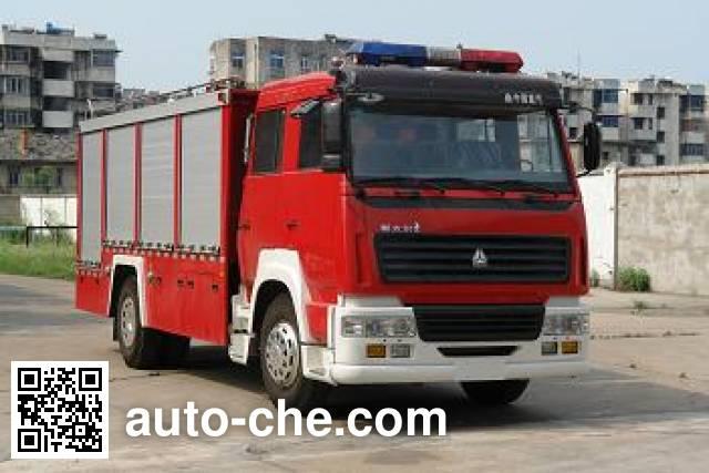 Longhua BBS5190GXFSG80SS fire tank truck
