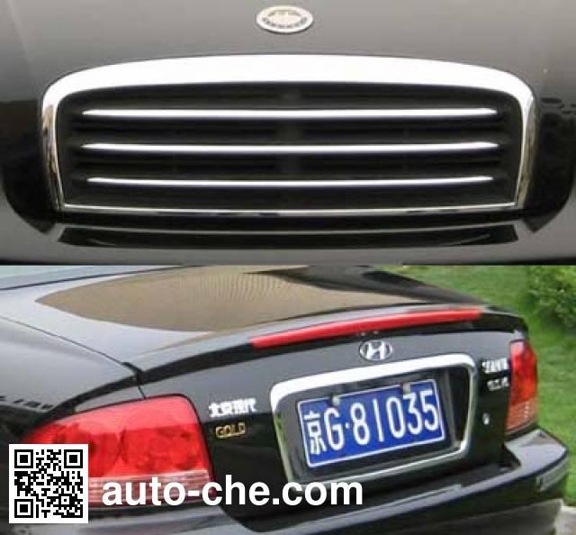 Beijing Hyundai BH5020XQCMWE prisoner transport vehicle