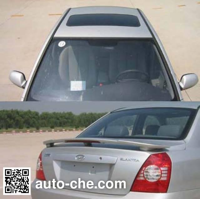 Beijing Hyundai BH5020XQCMWD prisoner transport vehicle