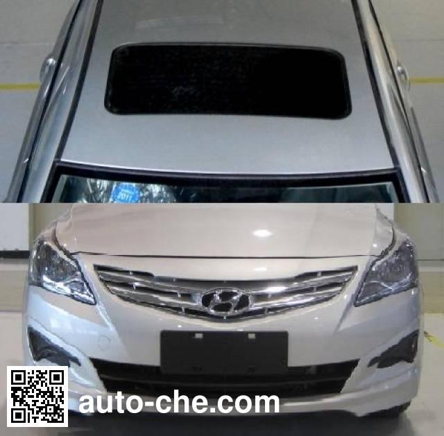 北京现代牌BH7145KAZ轿车