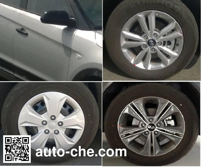 Beijing Hyundai BH7161QMV car