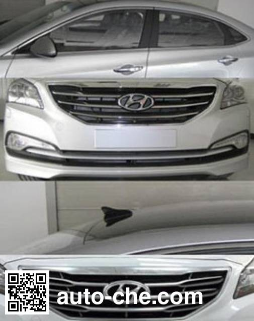 北京现代牌BH7200PAV轿车