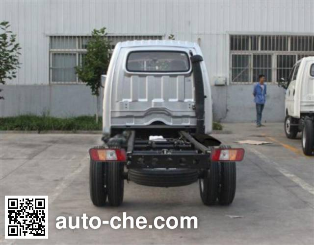 福田牌BJ1036V4AL4-GF两用燃料载货汽车底盘