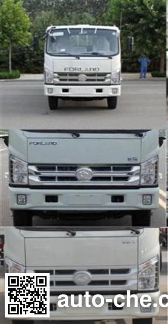 福田牌BJ1053VBPEA-B2载货汽车底盘