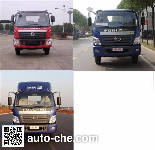 Foton BJ5162CPY-G1 soft top box van truck