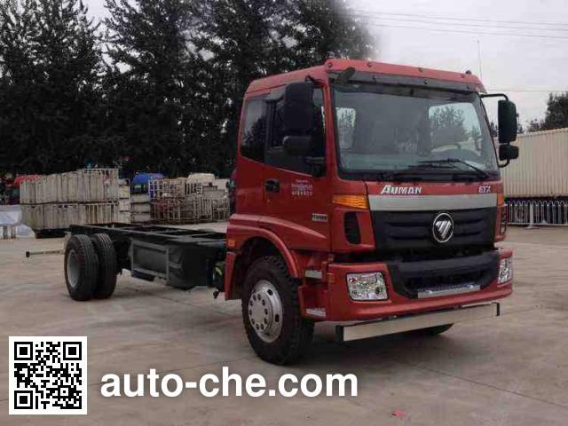 Foton Auman BJ5163XXY-AC van truck chassis