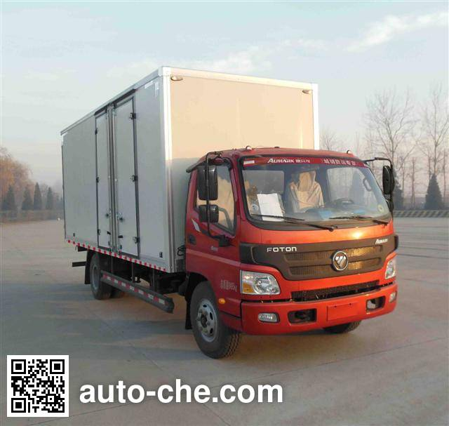 Foton BJ2049Y7JES-A2 cross-country box van truck