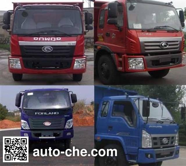 Foton BJ3122DEPFA-G1 dump truck