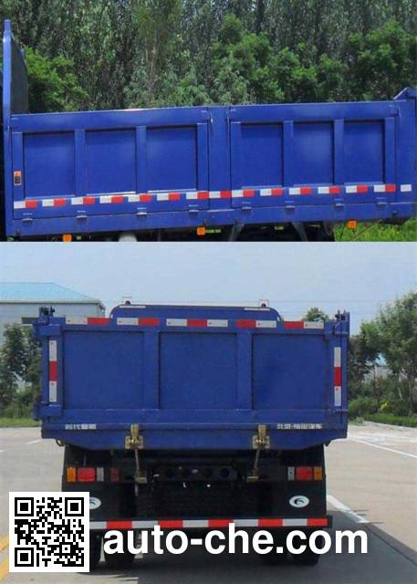 Foton BJ3125DGPFG-1 dump truck