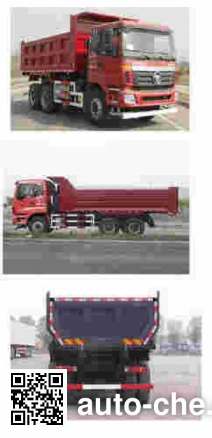 Foton Auman BJ3253DLPKE-XD dump truck