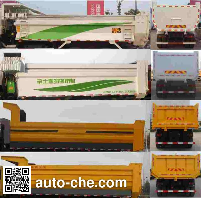 Foton Auman BJ3253DLPKB-AB dump truck