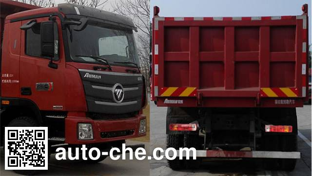 Foton Auman BJ3259DLPKB-XB dump truck
