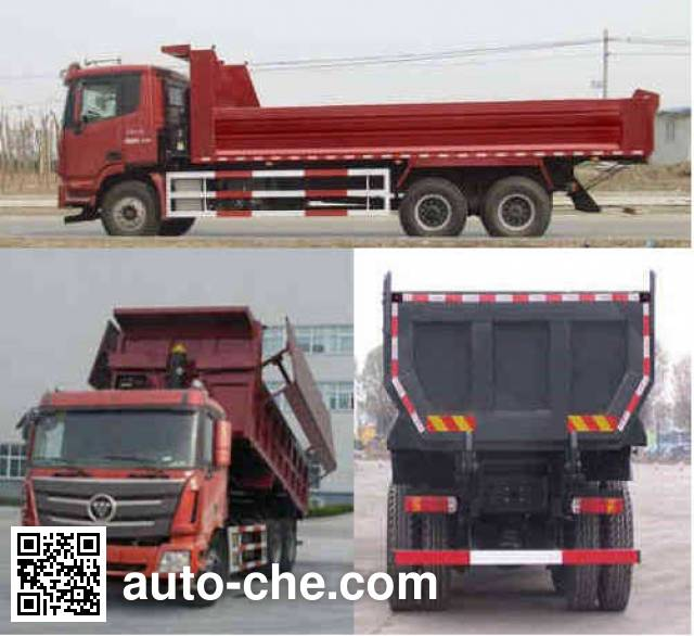 Foton Auman BJ3259DLPKB-XC dump truck