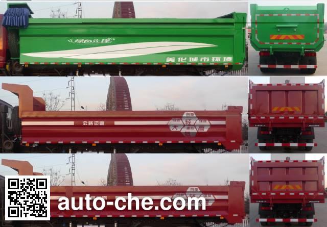 Foton Auman BJ3313DMPKC-AA dump truck