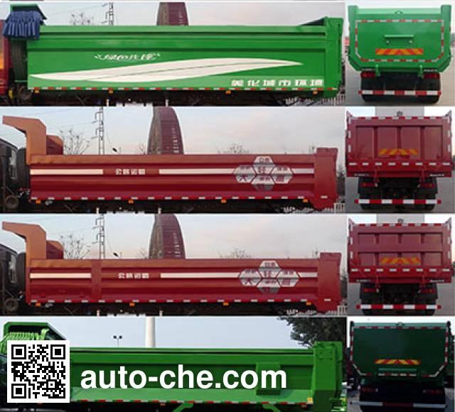 Foton Auman BJ3313DNPKC-AM dump truck