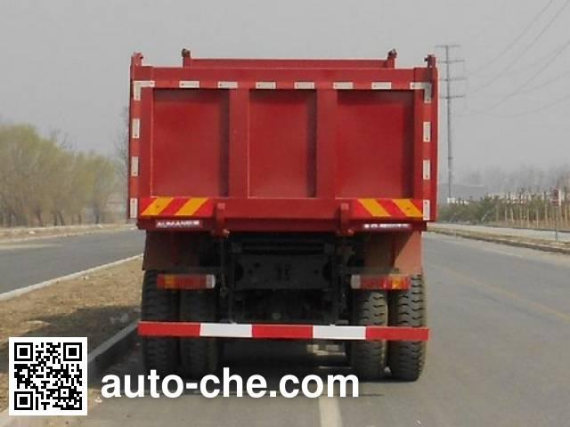 Foton Auman BJ3313DMPKF-XC dump truck