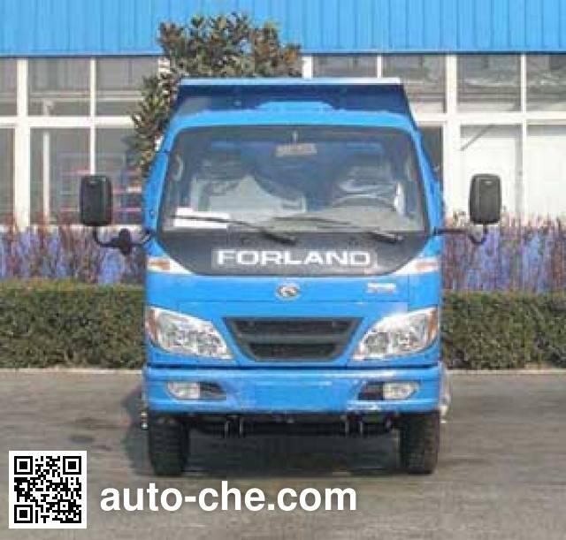 北京牌BJ4010D4A自卸低速货车