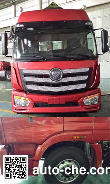 Foton Auman BJ4253SNFKB-AD dangerous goods transport tractor unit