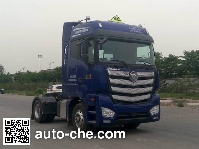 Foton Auman BJ4189SLFKA-AF dangerous goods transport tractor unit